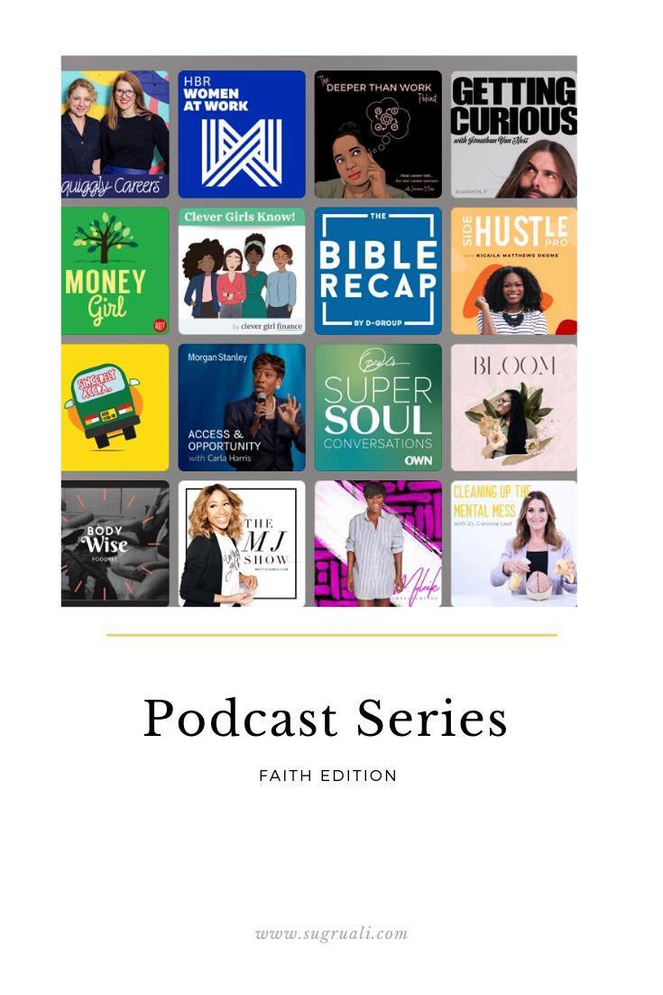 5 Faith based Podcasts I am loving…