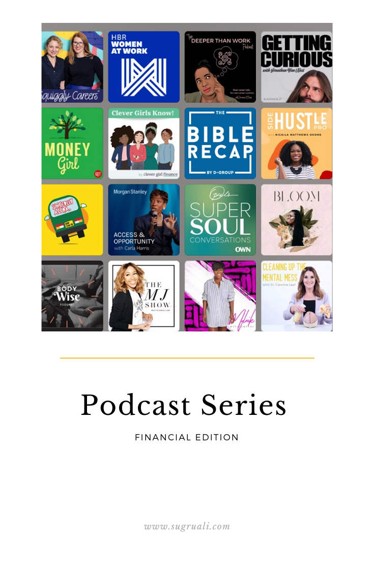 5 Finance related podcasts that I am loving…